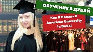 Обучение в Дубай. Как я Попала в American University in Dubai