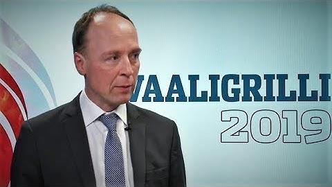 Jussi Halla-aho | Ilta-Sanomat vaaligrilli 5.4.2019
