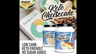 Keto Cheesecake - Delicious Low Carb, Ketogenic Diet Gluten Free Shake Mix – New York Style