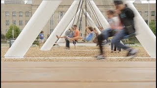 Musical Swings open at Bicentennial Park