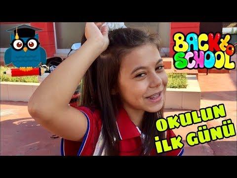 OKULUN İLK GÜNÜ   OKULA DÖNÜŞ   Back To School First Day   Eğlenceli Çocuk Videosu Sevimli Kardeşler