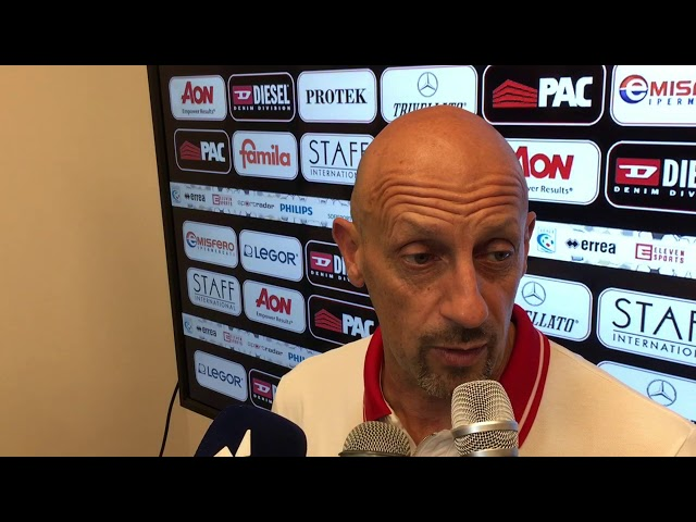 CALCIO - Mister Di CARLO sul match con Reggio Audace