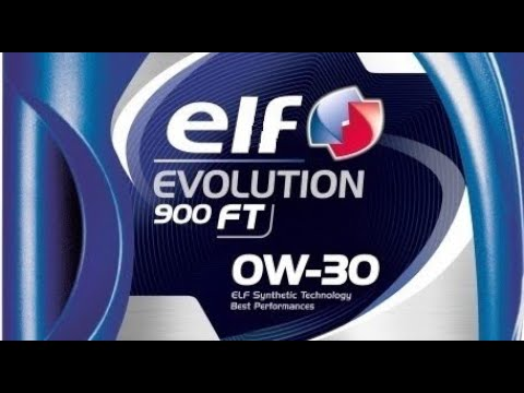 ELF Evolution 900 FT 0w30 (отработка 5200 км.)