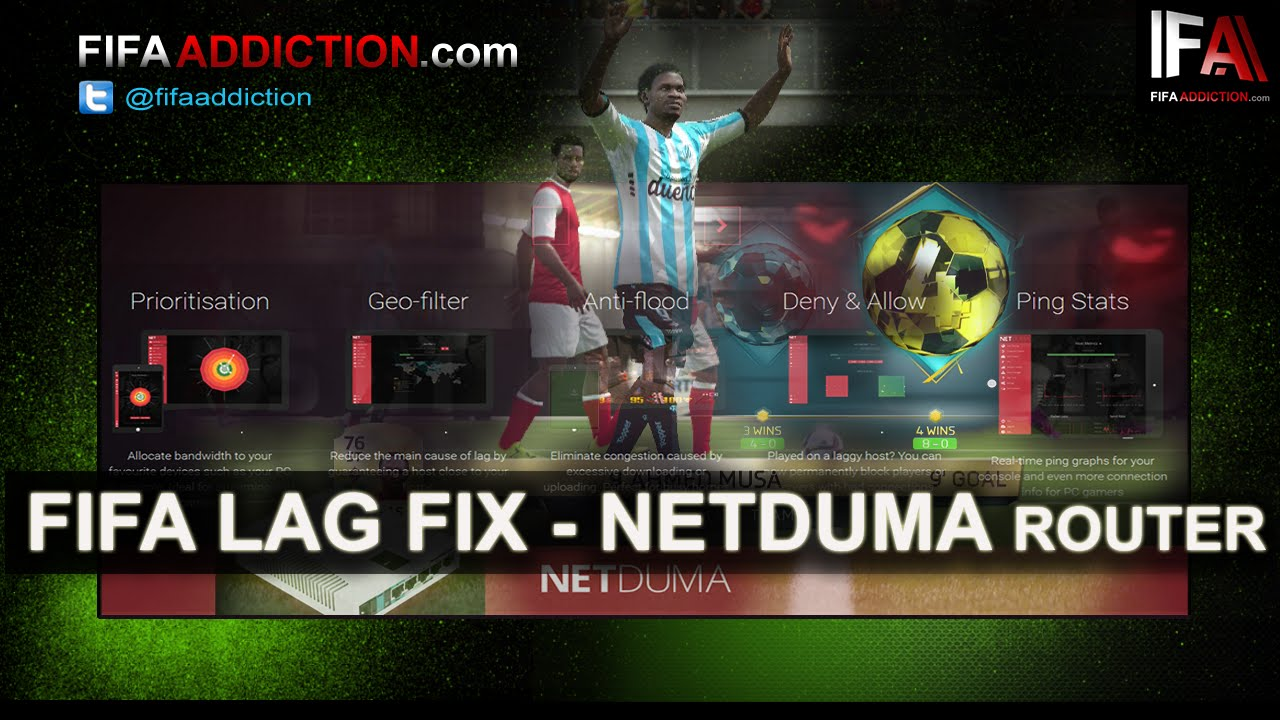 FIFA lag fix - fifaaddiction com