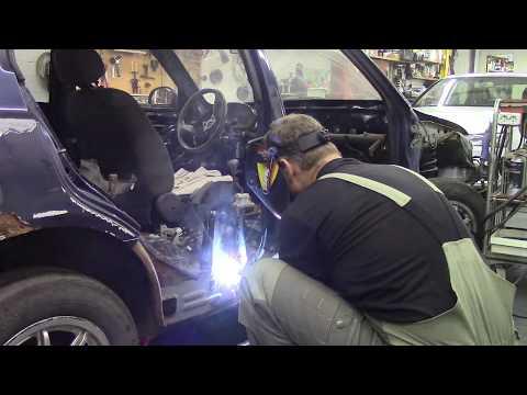Как еще больше не надо делать автомобили. Body repair after an accident.