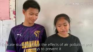 AIR POLLUTION ( SCIENCE PROJECT) part 2