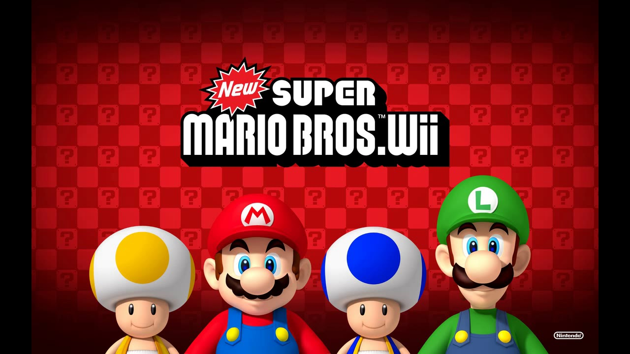 Water Theme - New Super Mario Bros  Wii Soundtrack