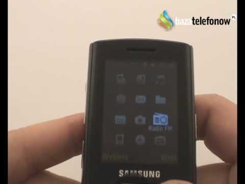 Prezentacja telefonu Samsung SGH-D780