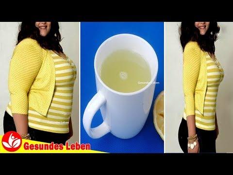 Zitronenwasser zur Gewichtsreduktion resultiert