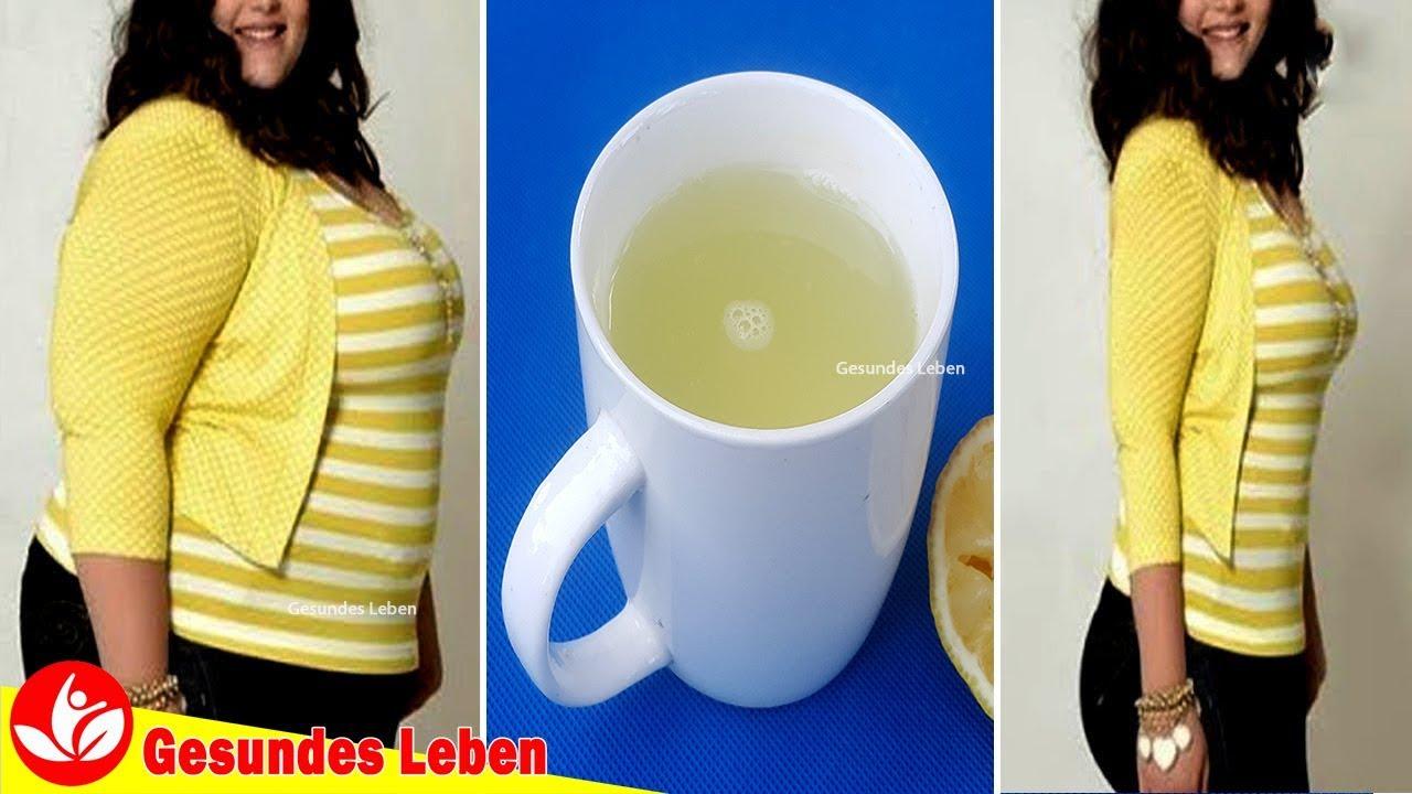 Wie man schnell mit Zitronenwasser abnimmt