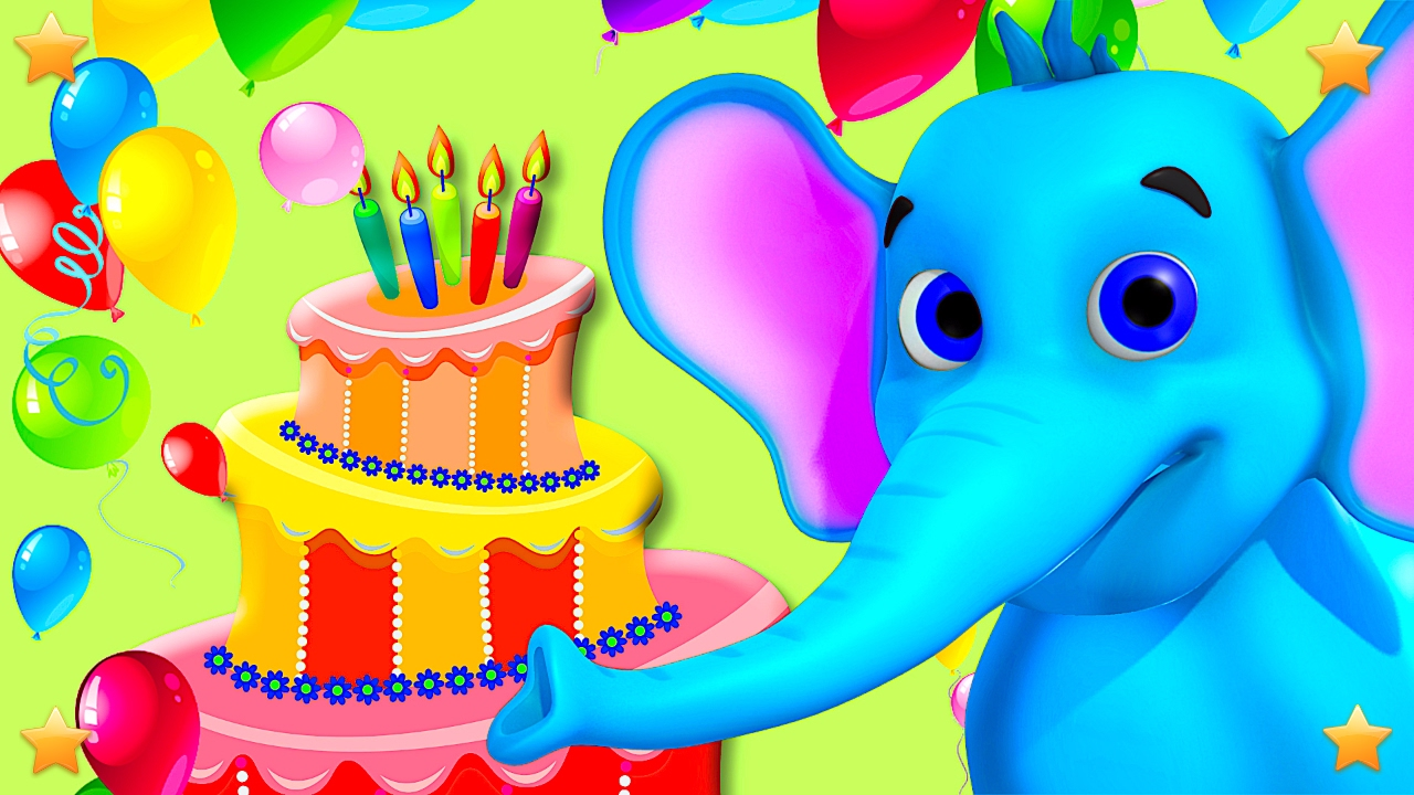 Happy Birthday to You | Kindergarten Nursery Rhymes & Songs for Kids | Little Treehouse S03E80