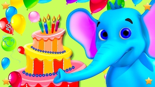 Video Happy Birthday to You | Kids Party Songs & 3D Nursery Rhymes Collection by Little Treehouse download MP3, 3GP, MP4, WEBM, AVI, FLV Agustus 2017