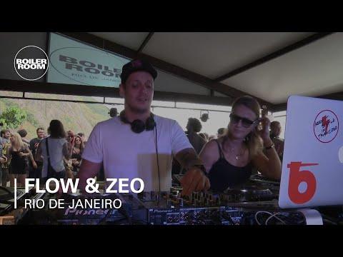 Flow & Zeo Boiler Room Rio de Janeiro