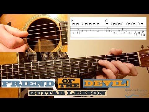 Friend of the Devil - Beginner Guitar