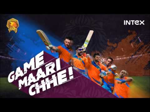 The Official Gujarat Lions Theme Song Audio : Game Mari Che Garbo