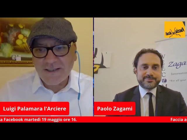 Faccia a Faccia con Paolo Zagami Avvocato d'Affari ed Analista economico giuridico internazionale