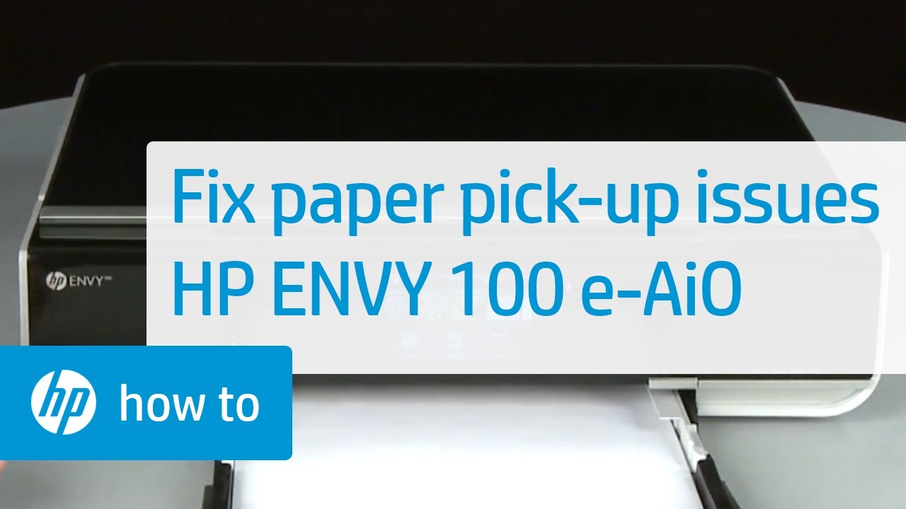 fixing paper pick up issues hp envy 100 e all in one printer rh youtube com HP ENVY 100% Hidden Buttons HP D410a Printer