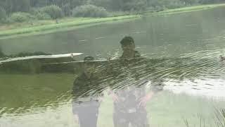 Рыбалка на карпа карп на траппе ловля карпа карп на фидер карп сломал подсак