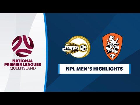 NPL Men's R12 - Moreton Bay United vs. Brisbane Roar Youth Highlights