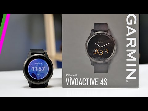 Garmin Vívoactive 4S First Impressions // Activities, Menus & Animated Workouts!