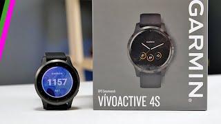 Garmin vívoactive 4S First Impressions // Activities, Menus & Animated Workouts!
