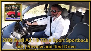 Review and Virtual Video Test Drive In Our Audi A3 1 9 TDI e Sport Sportback 5dr