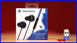 PlayStation 4 (PS4) Cobra In-Ear Stereo Noise-Cancelling Headset | Unboxing & Review | MyKeyReviews