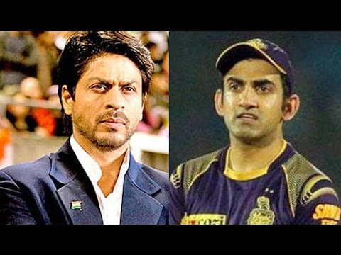 """Secret Message"" Of Shah Rukh Khan to Gautam Gambhir IPL 10 - VIVO IPL T20"