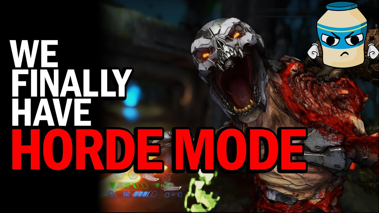 Doom Eternal's HORDE MODE will kick your ass - (plus installation instructions) thumbnail