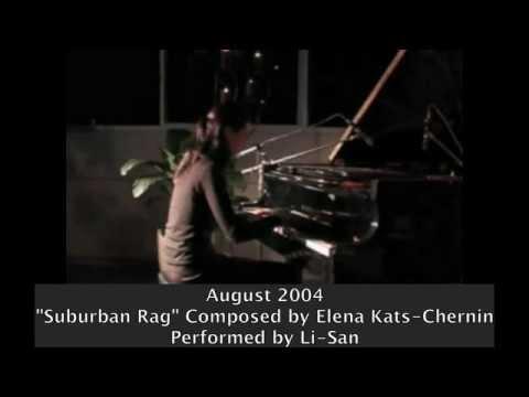 Suburban Rag - Elena Kats-Chernin
