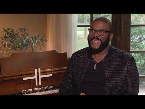Tyler Perry on fatherhood, Atlanta, opening new studio (FULL INTERVIEW)