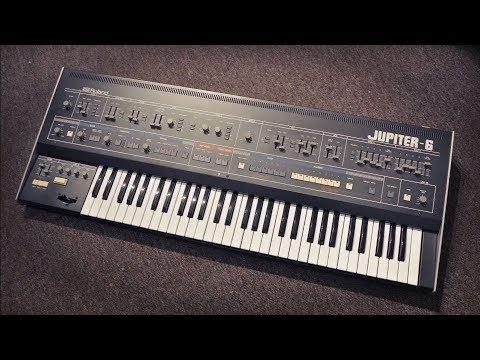 Roland Jupiter-6   You Got Me Dreamin'