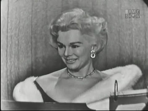 What's My Line? - Eva Gabor; Jim Backus [panel] (Nov 17, 1957)