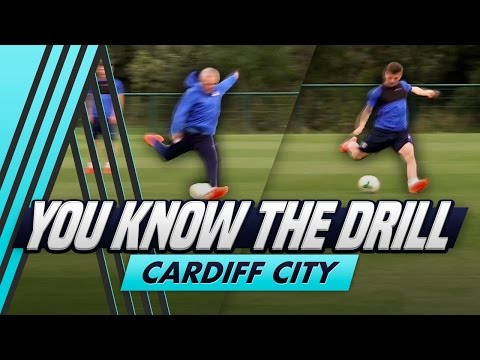 6 Shot Shooting Drill | You Know The Drill - Cardiff City with Matty Kennedy
