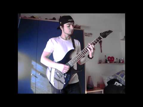 Korn (ft. Skrillex and Kill The Noise) - Narcissistic Cannibal (Guitar Cover) HD
