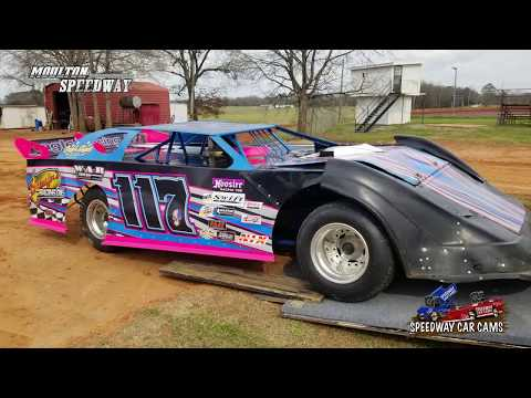 #117 Payton Cagle -  Crate - 3-17-18 Moulton Speedway - In Car Camera