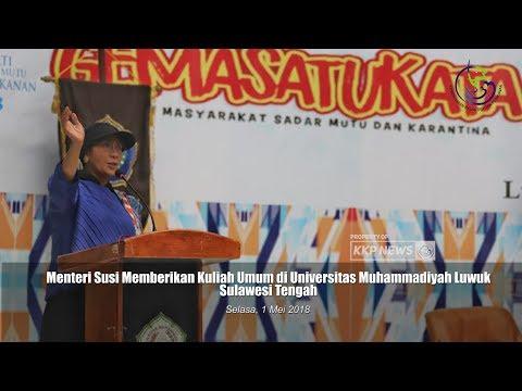 [EVENT] Menteri Susi Ajak Akademisi Kelola Perikanan Berkelanjutan di UNISMUH