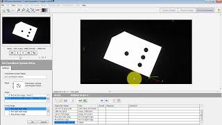 NI Vision: Set Coordinate System
