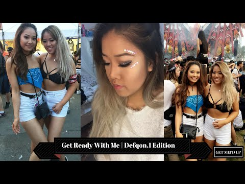 Get Ready With Me Defqon.1 Edition & Vlog | Get Mei'd Up