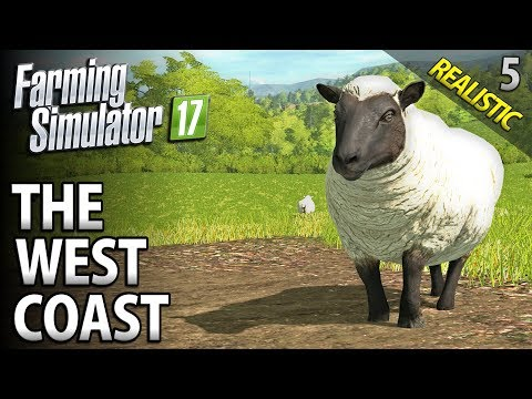 Let's Play Seasons Farming Simulator 17 | The West Coast | E