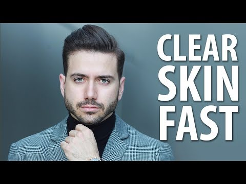 how-to-get-clear-skin-fast-|-men's-skincare-routine-|-alex-costa