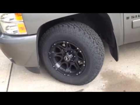2008 Chevy Silverado Tire Rub issue - YouTube