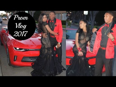 Prom Vlog 2k17/ Get Ready With Me + Photos