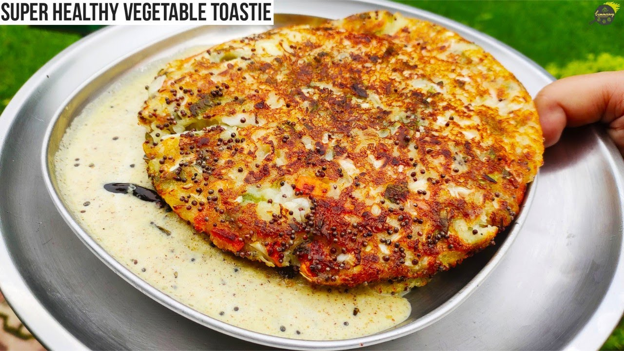 सूजी का झटपट आसान और हेल्दी नाश्ता | Vegetable Roastie | Healthy Breakfast | Indian Breakfast Recipe
