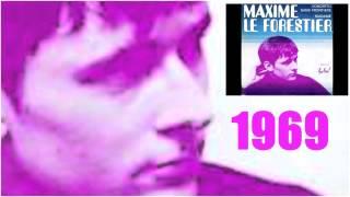 MAXIME LE FORESTIER 1969 Concerto sans frontière ( les débuts en solo )