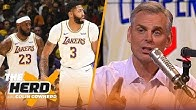 Colin predicts NBA Western Conference standings, reacts to Kawhi being left off GM poll | THE HERD