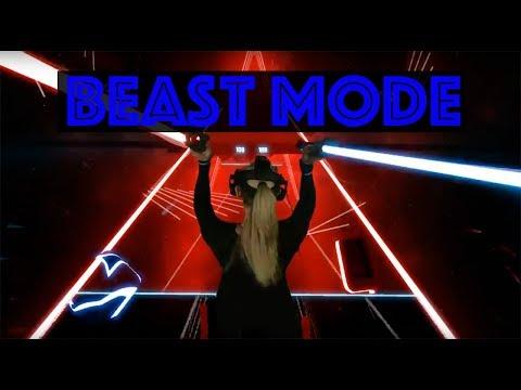 Beat Saber - She goes Beast Mode - Turn Me On - Level Hard