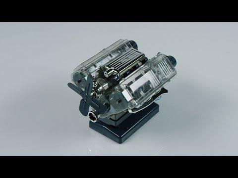 ORVIS - Build Your Own V8 Engine Model Kit - YouTube