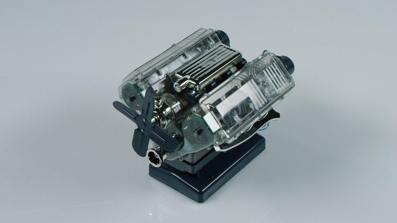 ORVIS - Build Your Own V8 Engine Model Kit