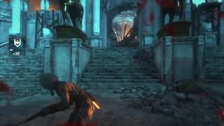 Rise of the Tomb Raider - Glitch: Enemy thru the floor - Playstation 4